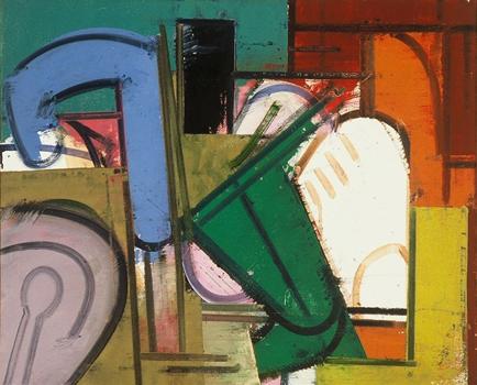 George Lloyd: Still Life with Blue Spigot