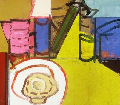 George Lloyd: Still Life with Pink Coffee Pot