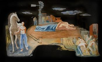 Michael Loew: Mural Study