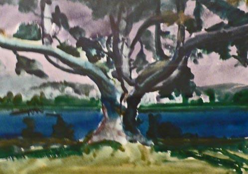 Philip Malicoat: Untitled Maine Landscape (#1)