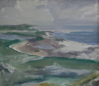 Philip Malicoat: Mouth of Pamet Truro