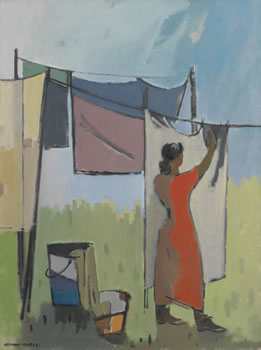 Herman Maril: Wash Day