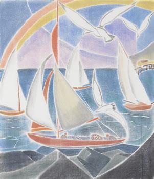 Grace Martin Taylor: Sails & Gulls