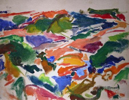 Mercedes Matter: Landscape, Truro