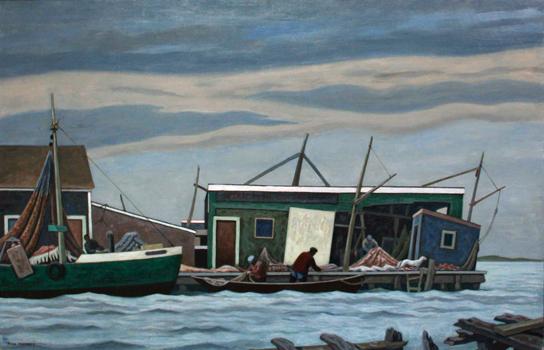 Ross Moffett: Higgins Wharf