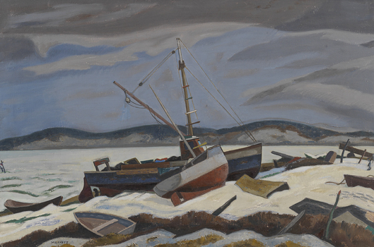 Ross Moffett: Winter, Wellfleet