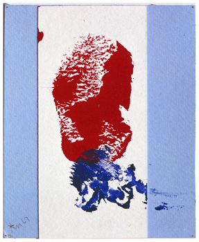 Robert Motherwell: Red, White, and Blue No. 2