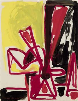 Lillian Orlowsky: Still Life in Red and Yellow