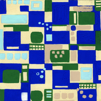 Lillian Orlowsky: Textile Design #28