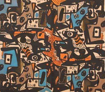 Lillian Orlowsky: Textile Design #31