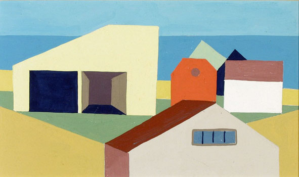 Kenneth Stubbs: Houses and Beach (CM022)