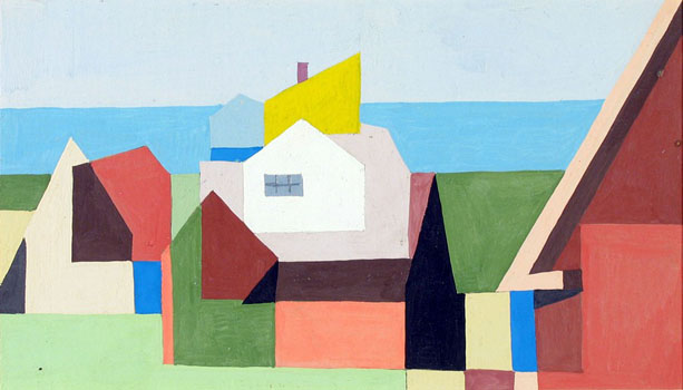 Kenneth Stubbs: Houses and Ocean (CM535)