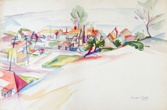 Kenneth Stubbs: Provincetown Houses