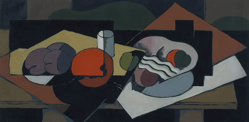 Kenneth Stubbs: Still Life with Fruit