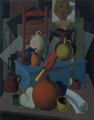 Kenneth Stubbs: Still Life with Red Jug