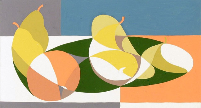 Kenneth Stubbs: Still Life with Pears