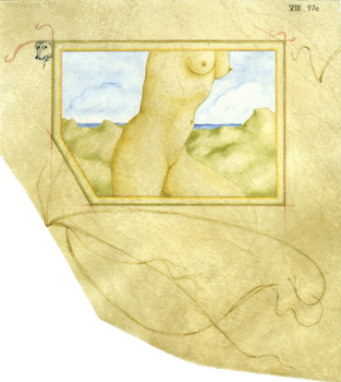 Tabitha Vevers: Transient Anatomies: VIII. 97C (Dune Walker)