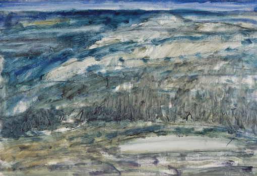 Tony Vevers: Mid-Winter Landscape