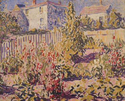 E. Ambrose Webster: Provincetown Garden